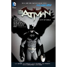 Batman Vol. 2 City of Owls Trade Paperback