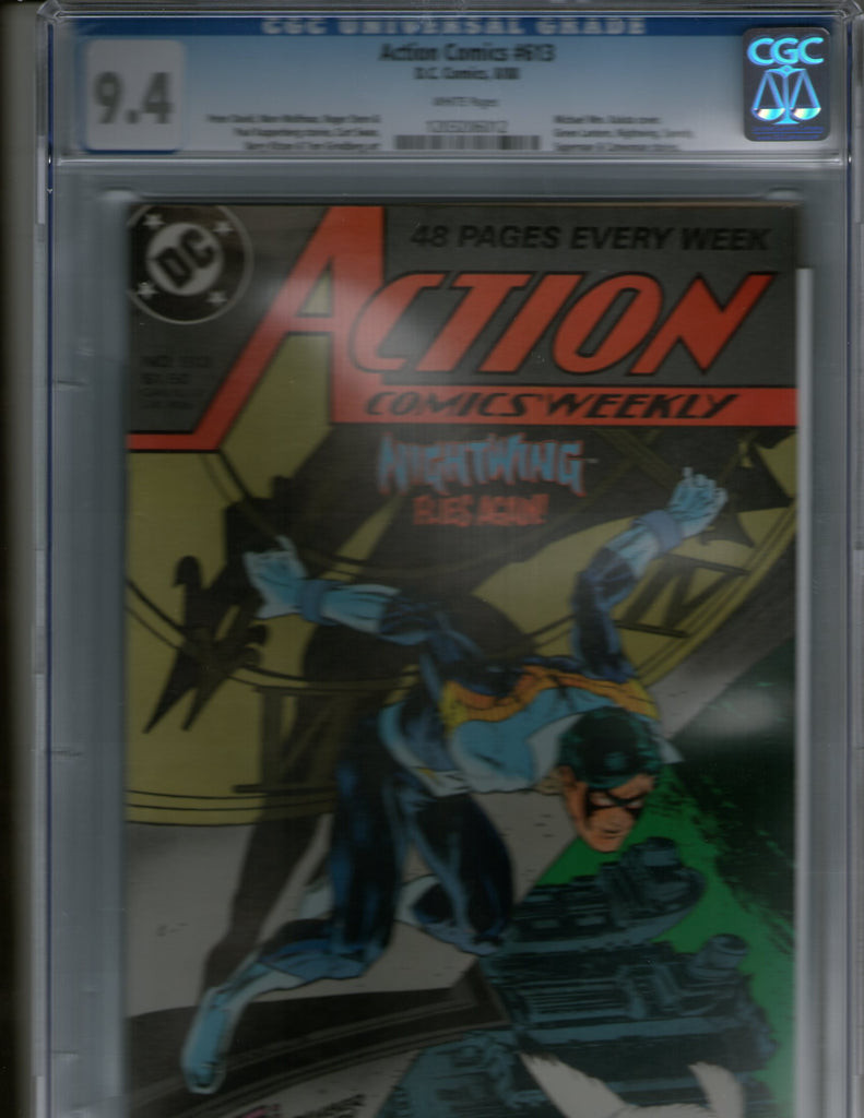 Action Comics Weekly 613 CGC 9.4 Nightwing Superman