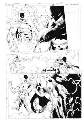 DARK KNIGHT 10 p 20 Batman Ed Benes