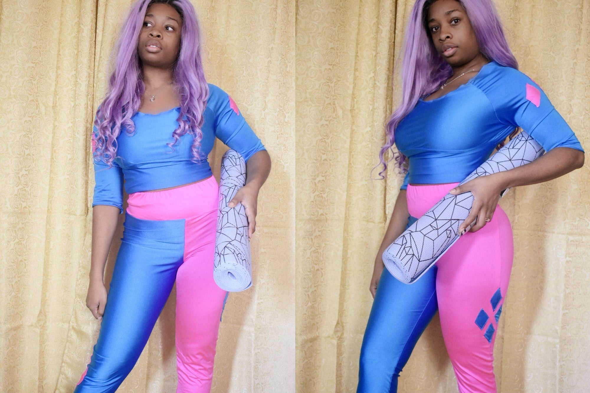 Cosplay Meets the Gym Inspired DIY Sewing Tutorial
