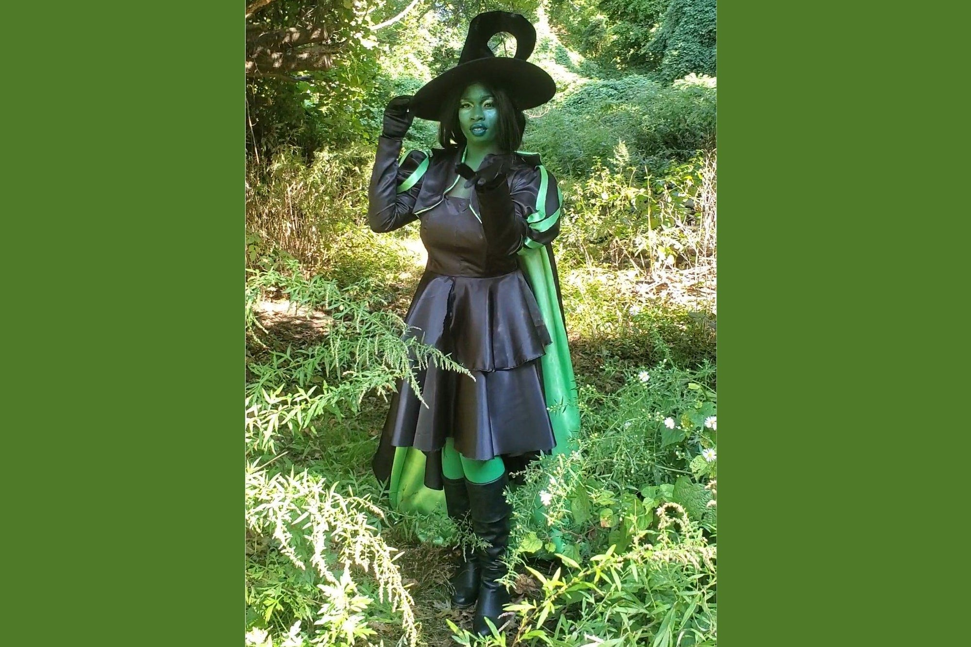 DIY Wicked Witch Costume Cosplay Tutorial