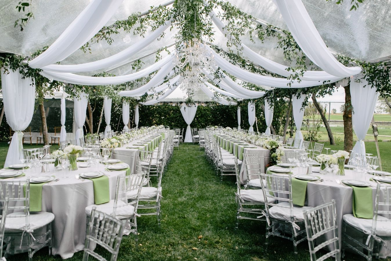 How to Choose the Right Wedding Drapery Fabric