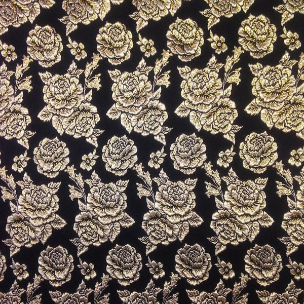 Metallic Jacquard