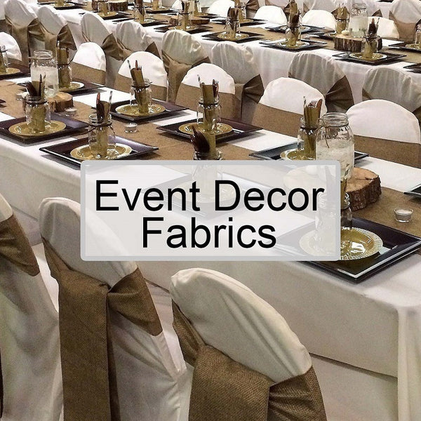 Event Decor Fabrics