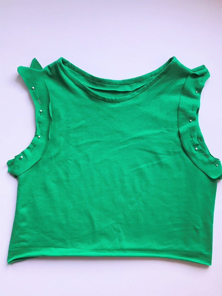 Peplum Tank Sewing Tutorial