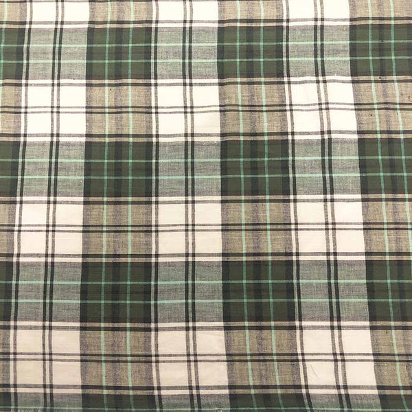 Madras Plaid Fabric (Style 15928)