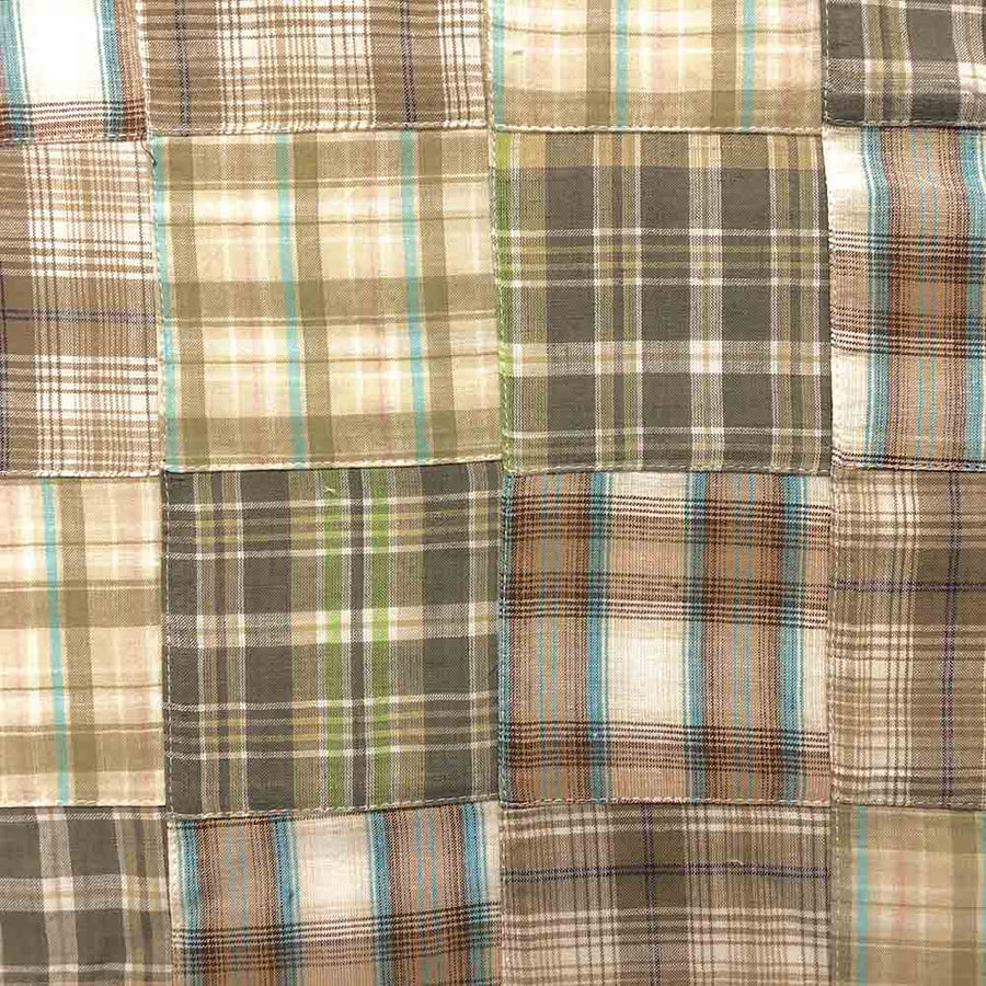 Madras Patchwork Plaid Fabric (Style 1603)