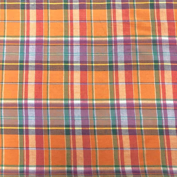 Madras Plaid Fabric (Style 16106)