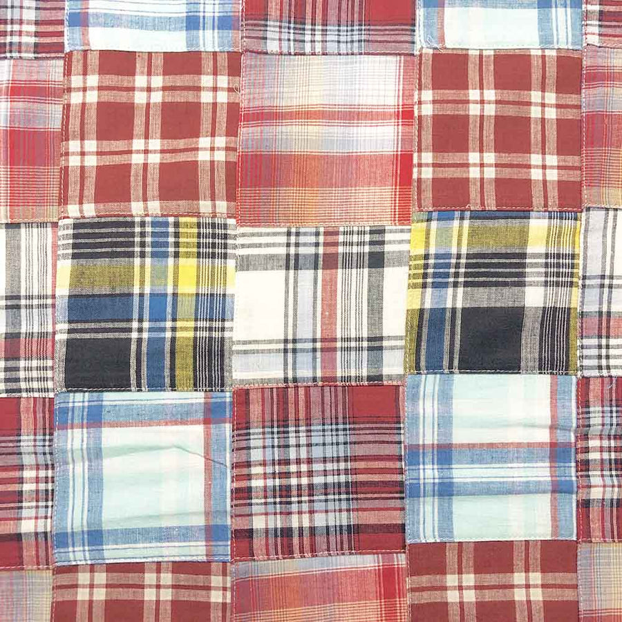 Madras Patchwork Plaid Fabric (Style 1643)