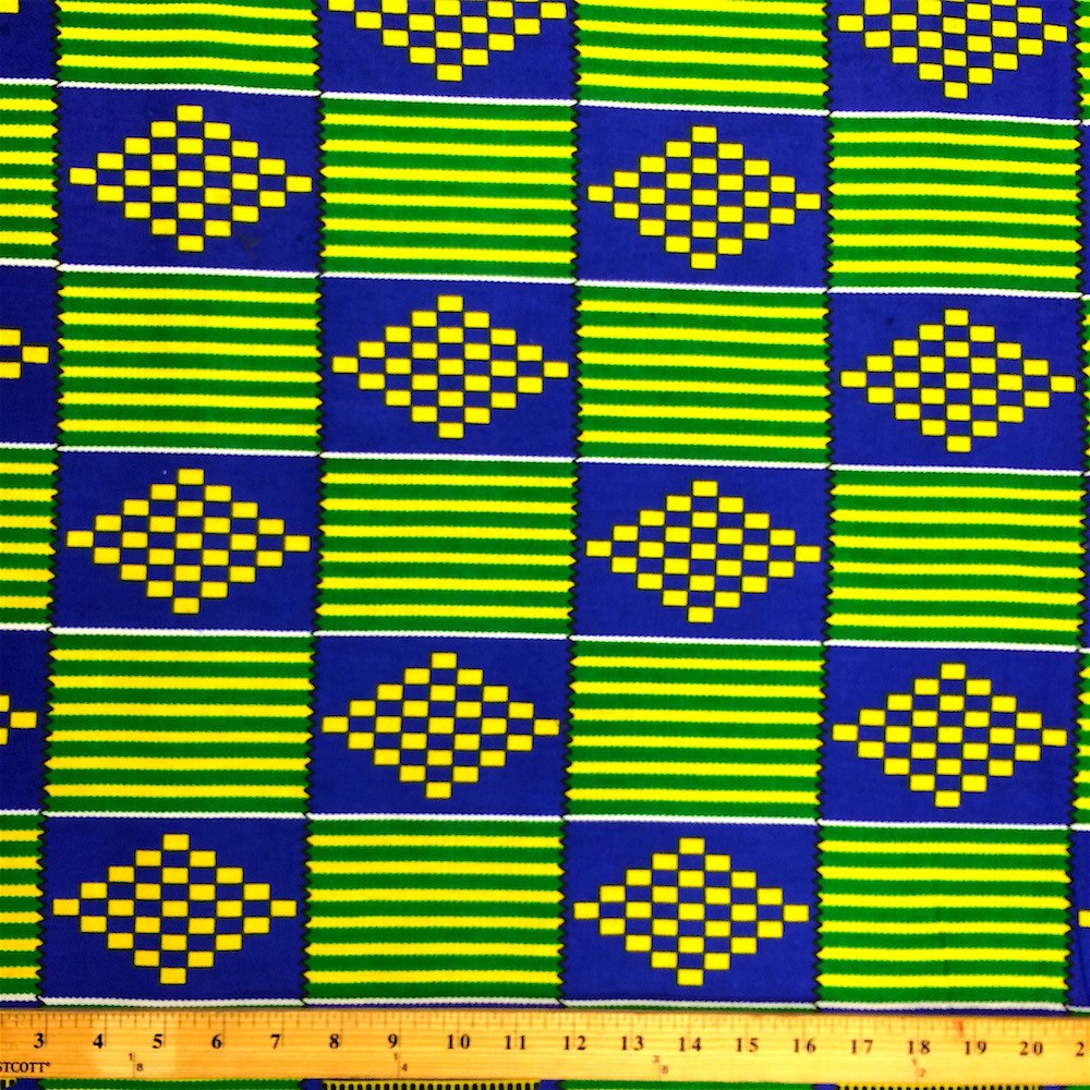 Kente African Print 19002 1 Fabric Wholesale Direct