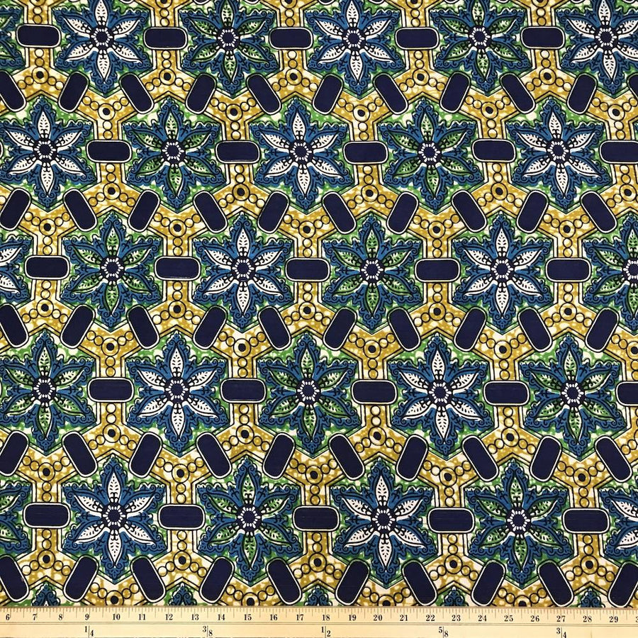 African Print (185179-1) Fabric