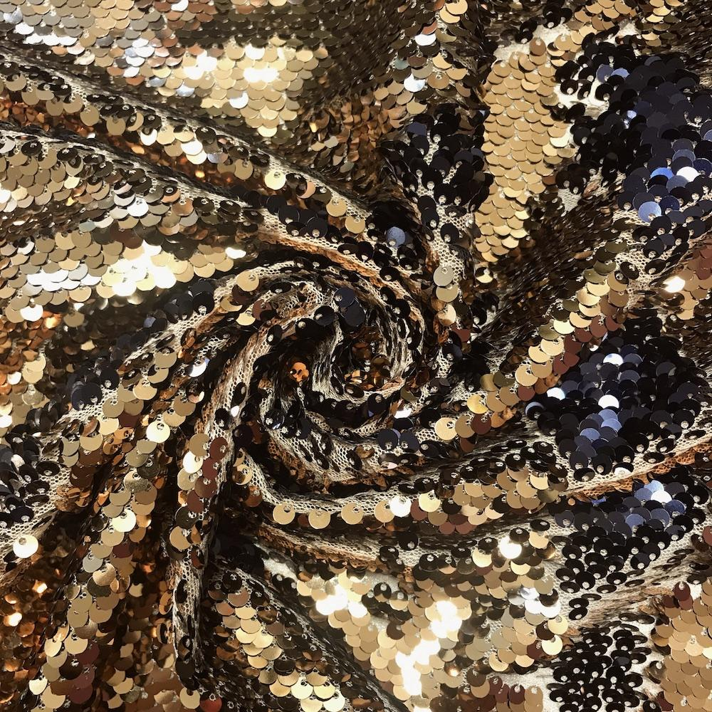 a5527f481 Two Sided Reversible Sequins Fabric on Stretch Mesh  19.99 yard ...