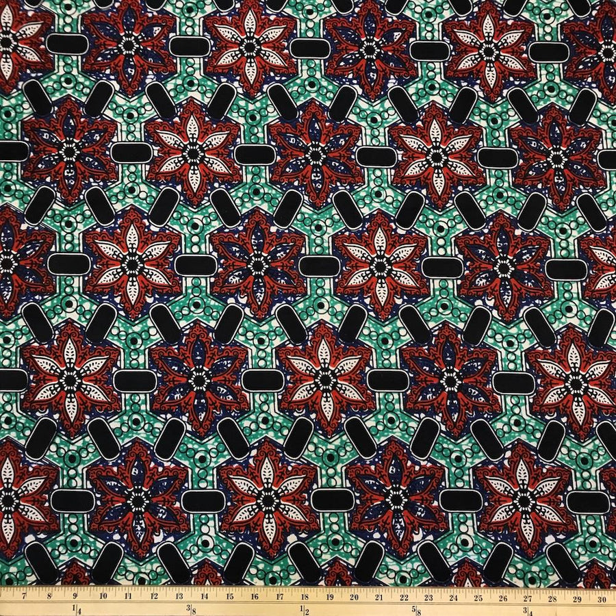 African Print (185179-3) Fabric