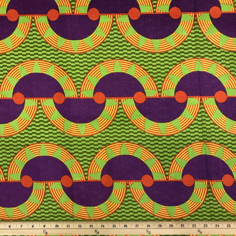 African Print (185182-1) Fabric