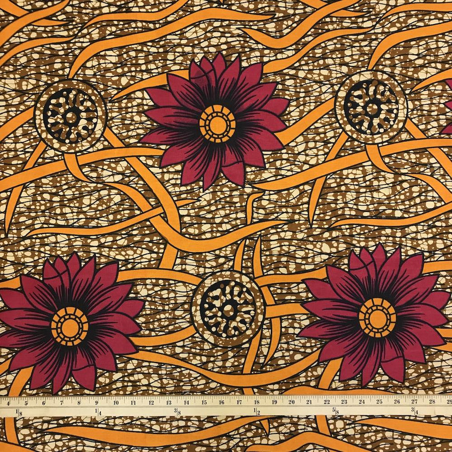 African Print (185176-4) Fabric