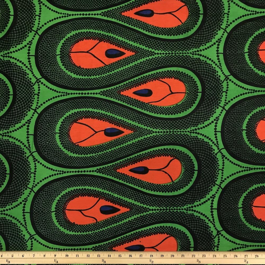 African Print (185154-2) Fabric