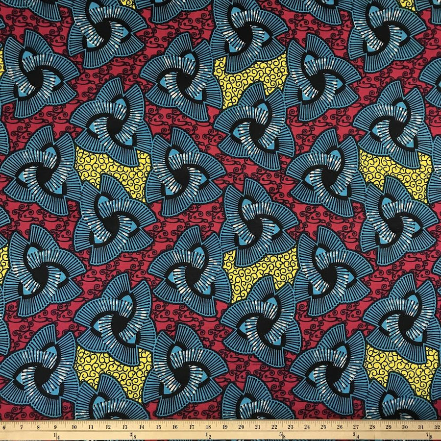 African Print (185173-4) Fabric