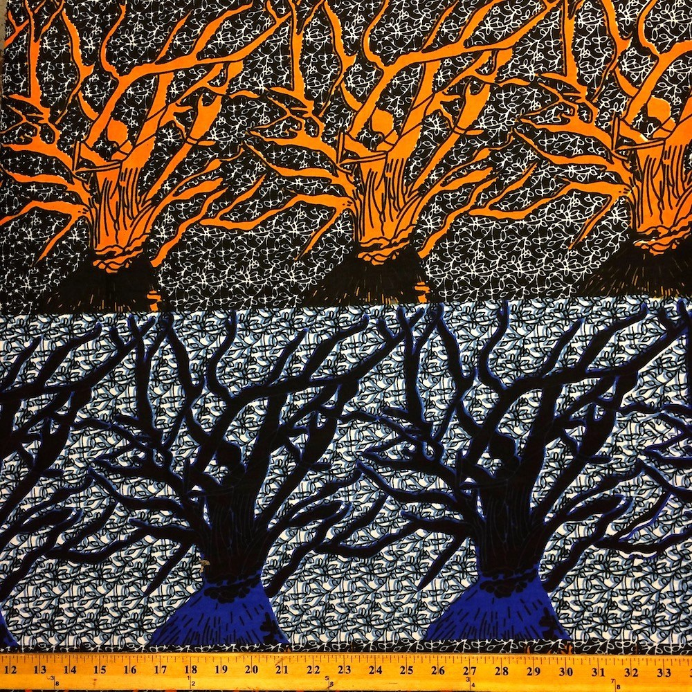 90118-1 African Print Fabric 100/% Cotton 44/'/' wide sold by the yard Forest
