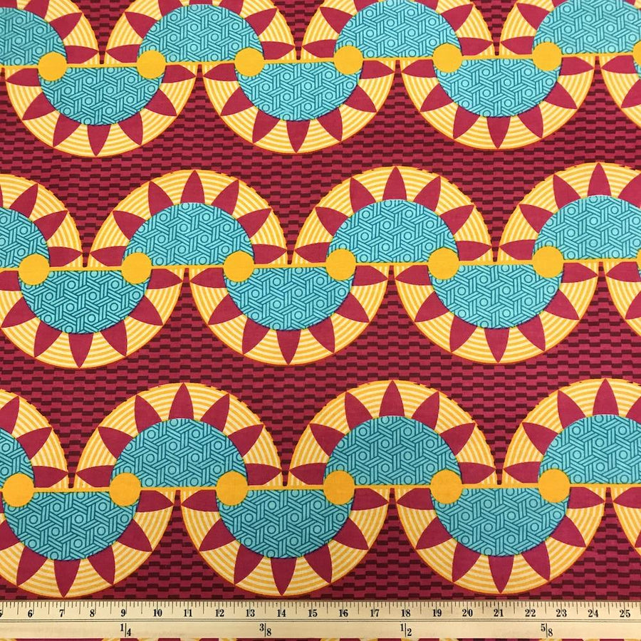 African Print (185182-3) Fabric