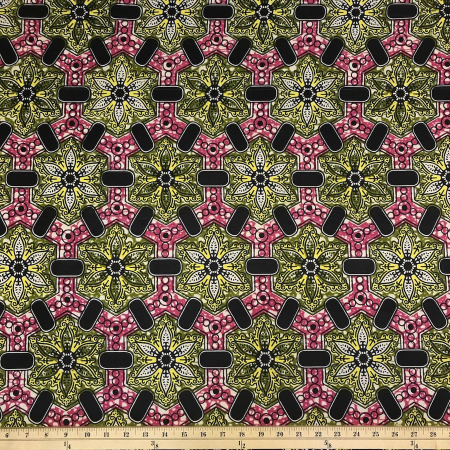 African Print (185179-2) Fabric
