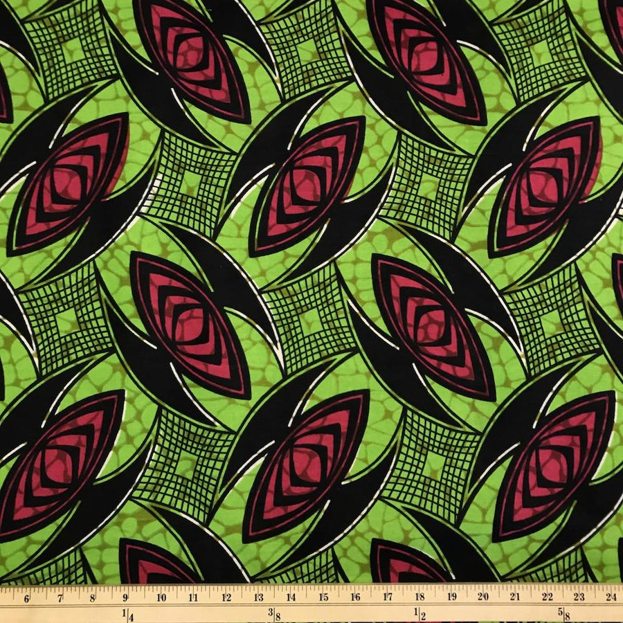 African Print (185166-2) Fabric