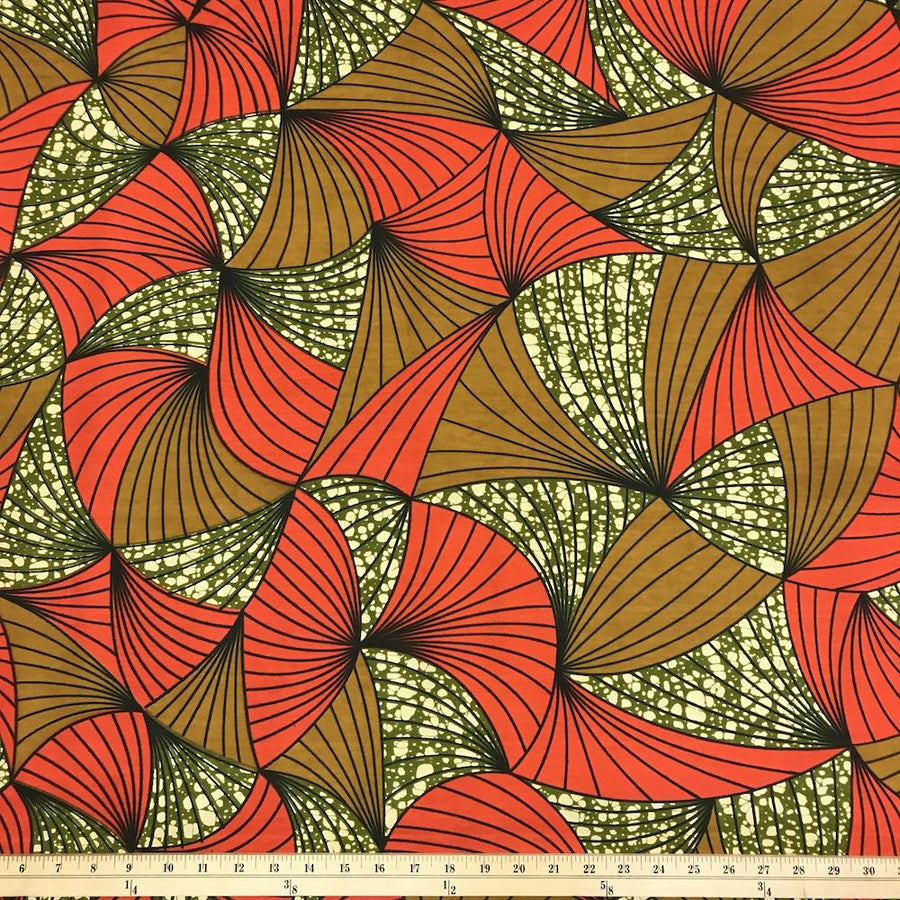 African Print (185165-4) Fabric