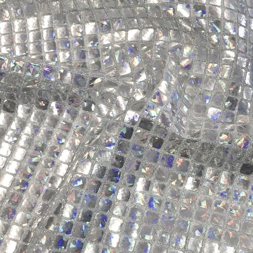 Hologram 8mm Square Sequins Fabric 44 Quot Wide 5 99 Yard 100