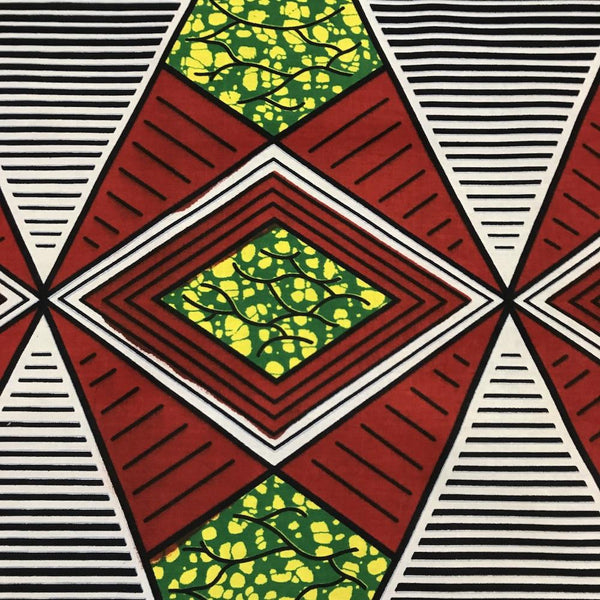 African Print (185160-5) Fabric