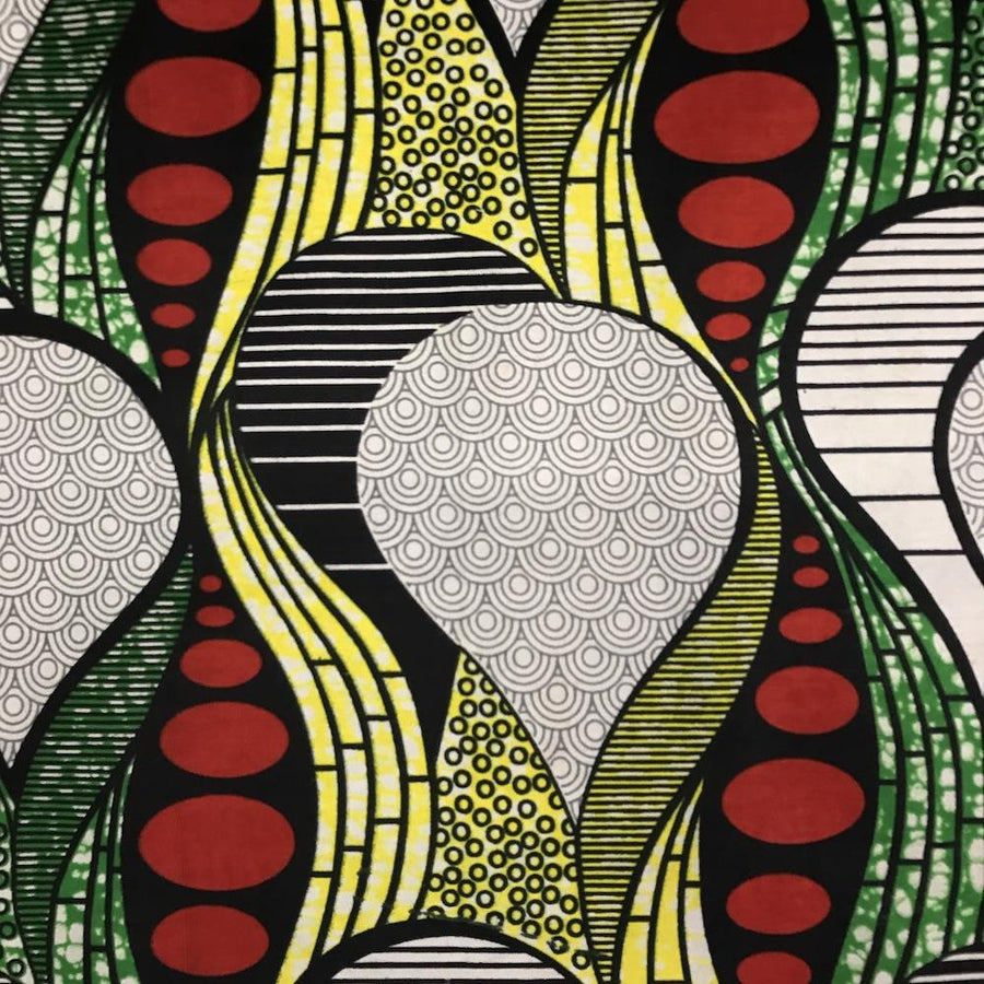 African Print (185156-1) Fabric