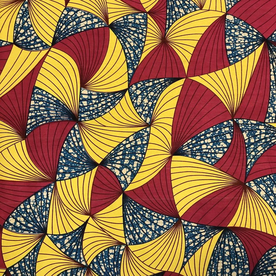 African Print (185165-3) Fabric