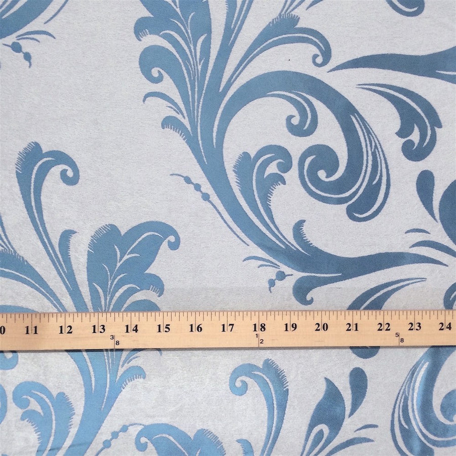 Blue Velvet Jacquard (901-8) Fabric