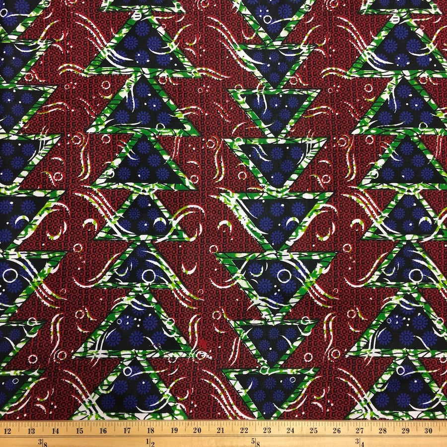 African Print (90122-1) Fabric