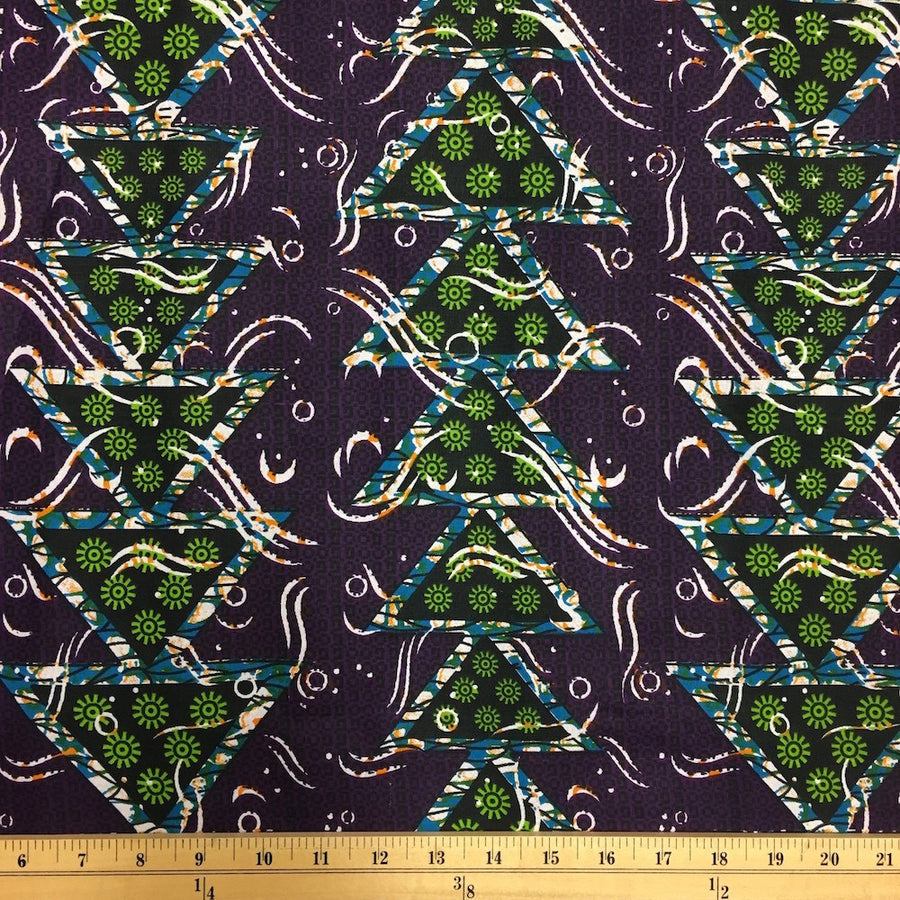 African Print (90122-2) Fabric