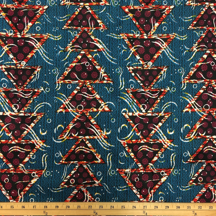 African Print (90122-3) Fabric
