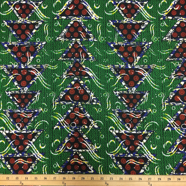 African Print (90122-4) Fabric