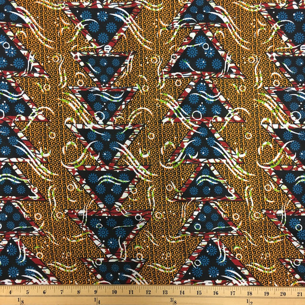 African Print (90122-5) Fabric