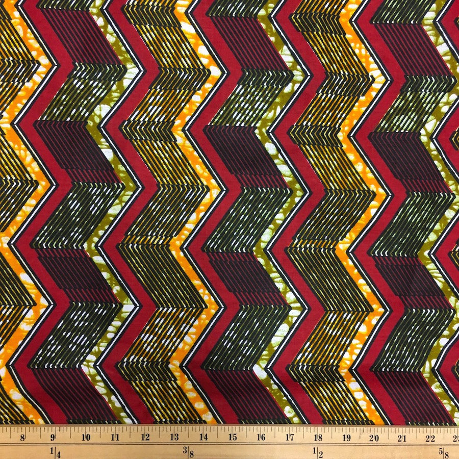 African Print (90126-1) Fabric