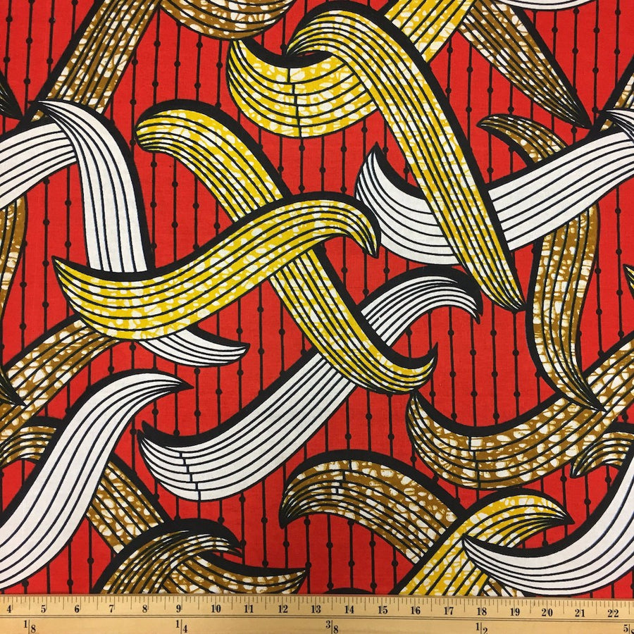 African Print (90128-1) Fabric