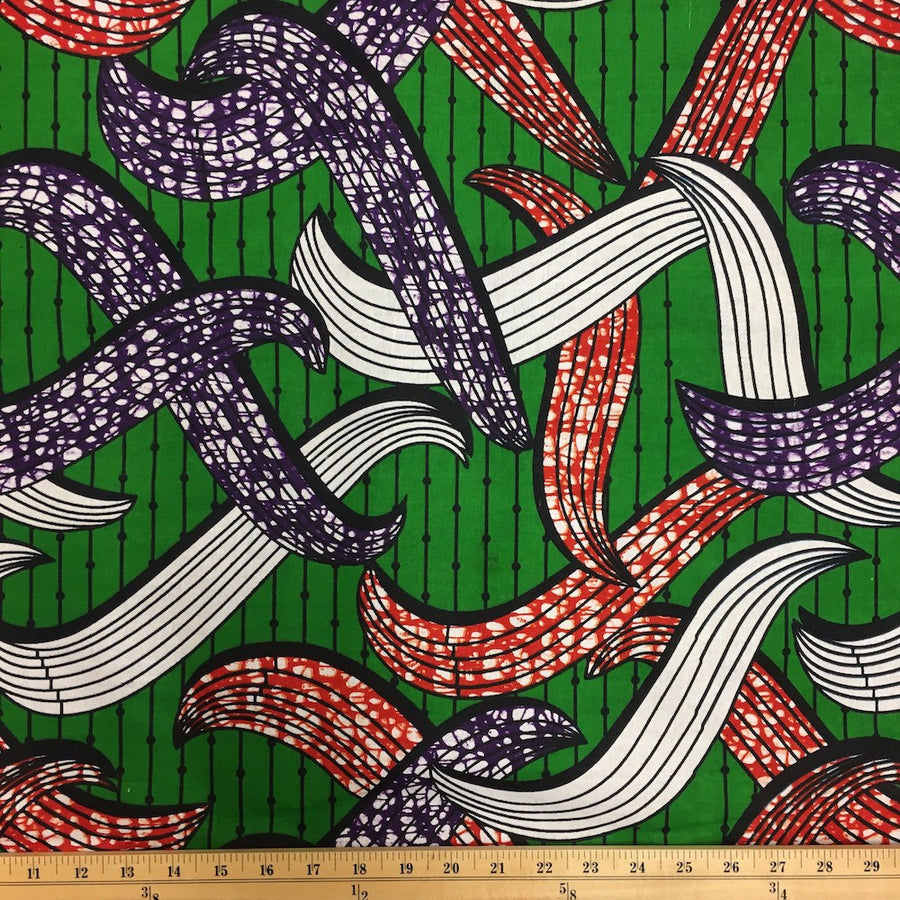 African Print (90128-3) Fabric