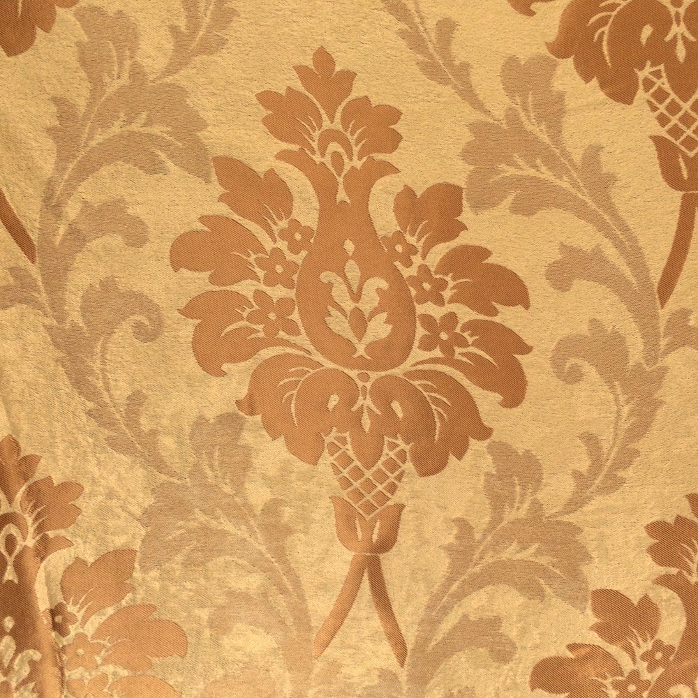 Gold Velvet Jacquard (902-3) Fabric