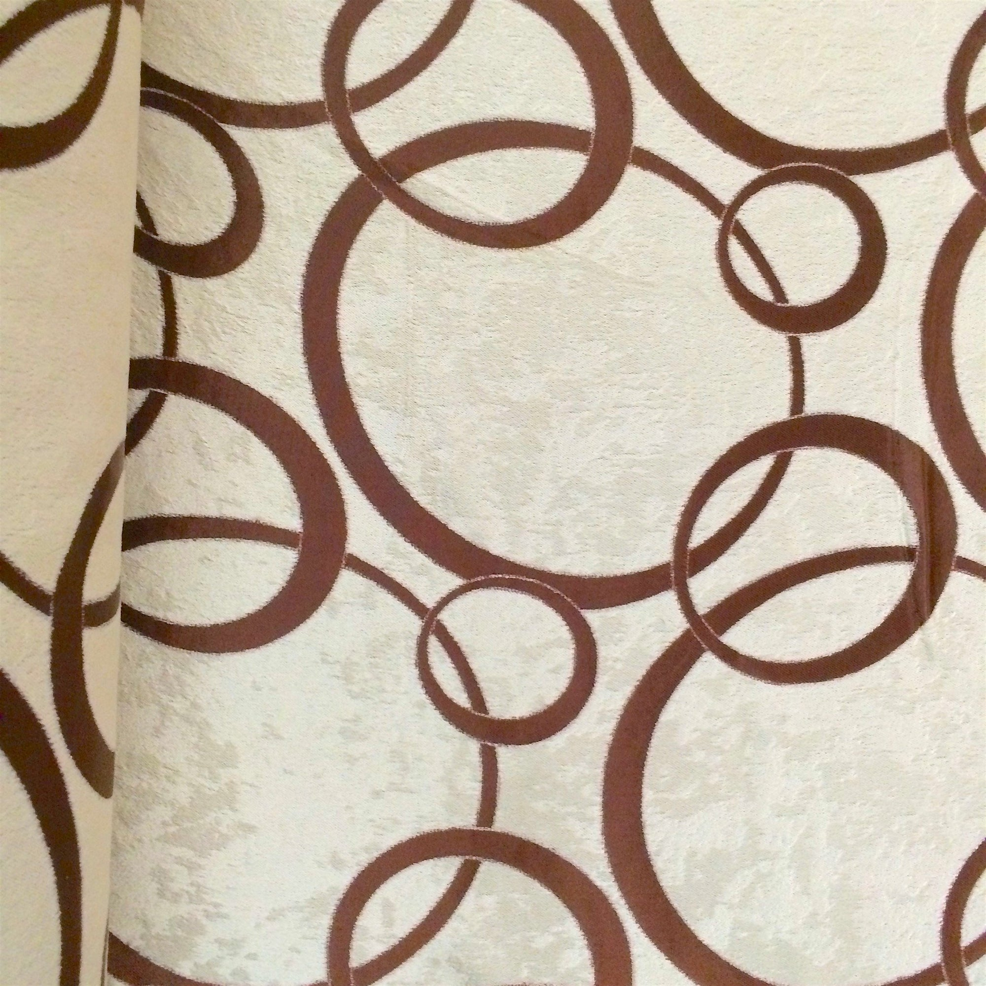 Brown Velvet Jacquard (905-2) Fabric