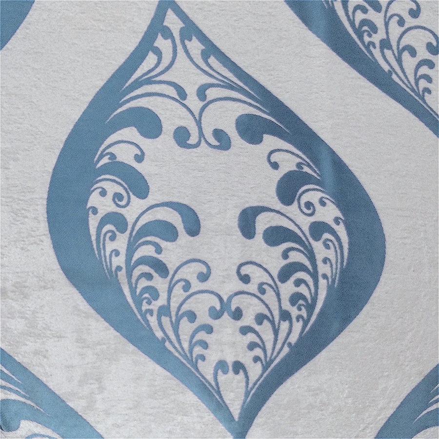Blue Velvet Jacquard (907-8) Fabric