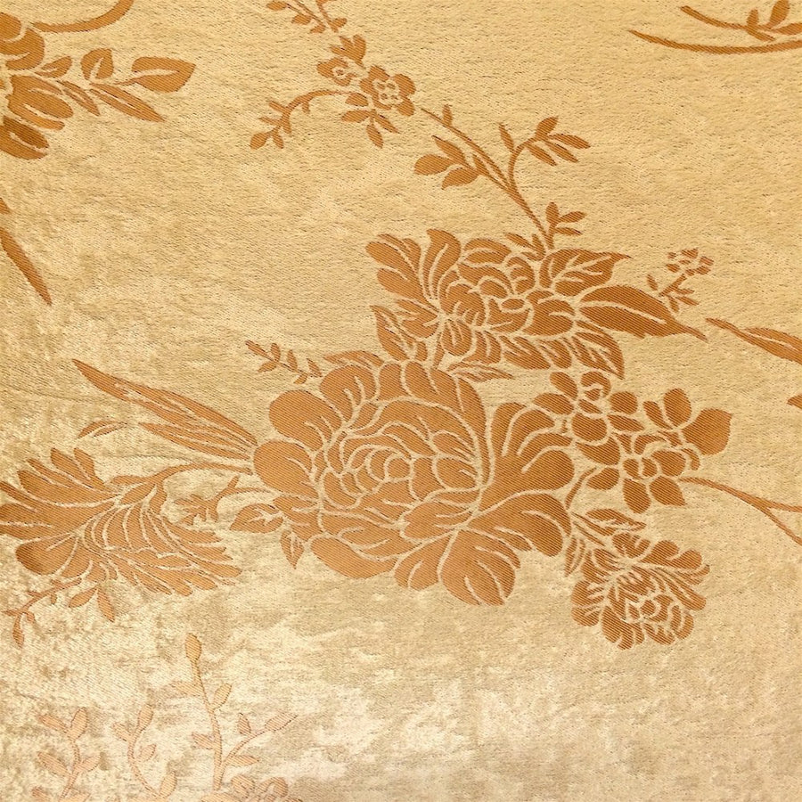 Gold Velvet Jacquard (910-3) Fabric