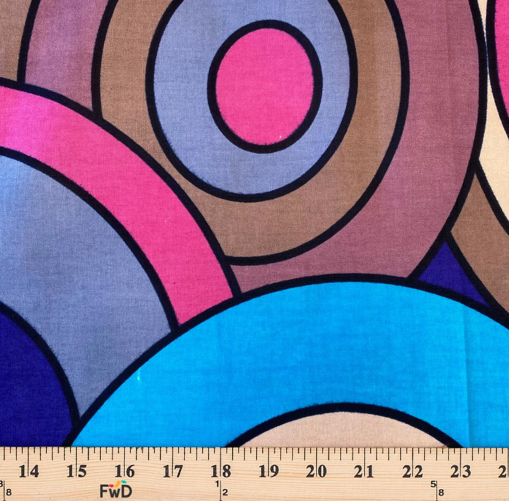 African Print Fabric Cotton Print 44/'/' wide By The Yard 90205-3