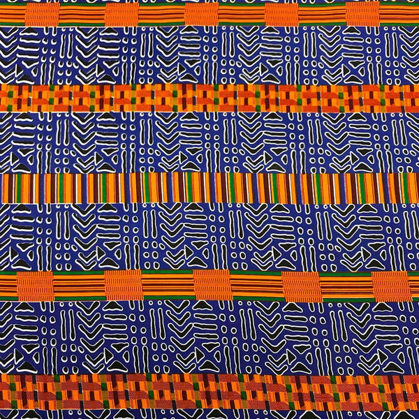 African Print (19009-4) Fabric