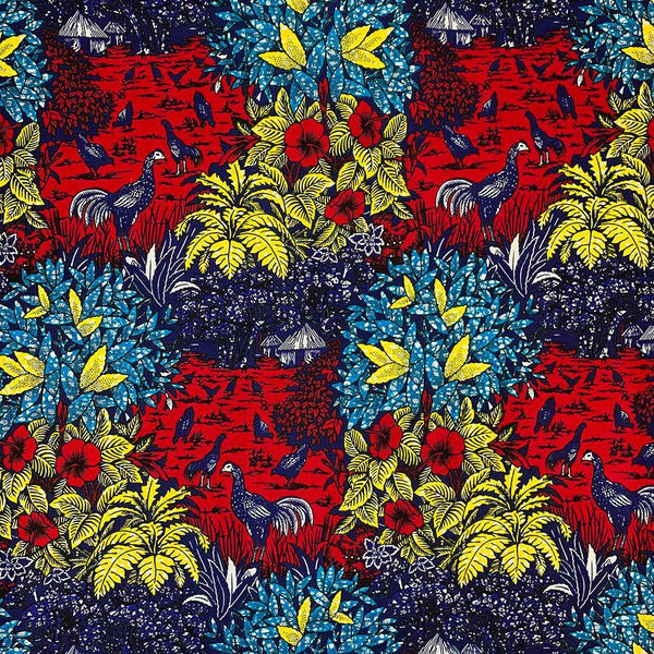 African Print (90189-1) Fabric