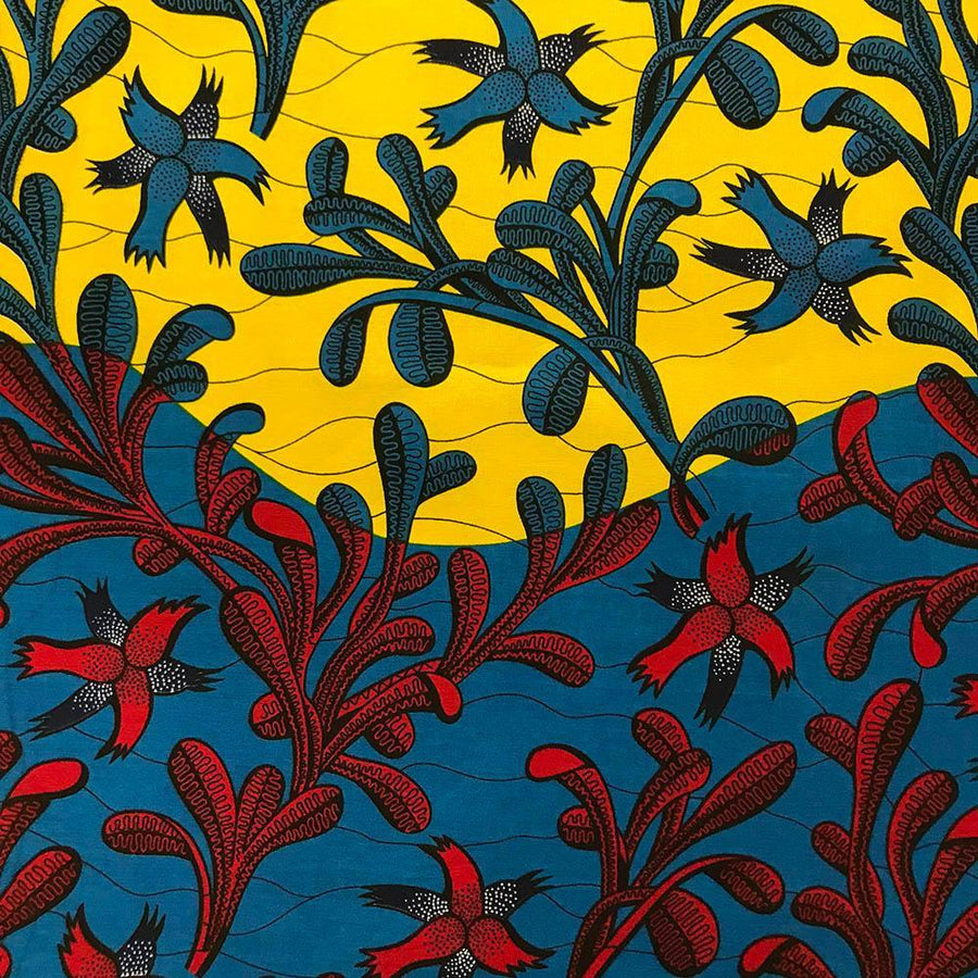 African Print (90202-4) Fabric