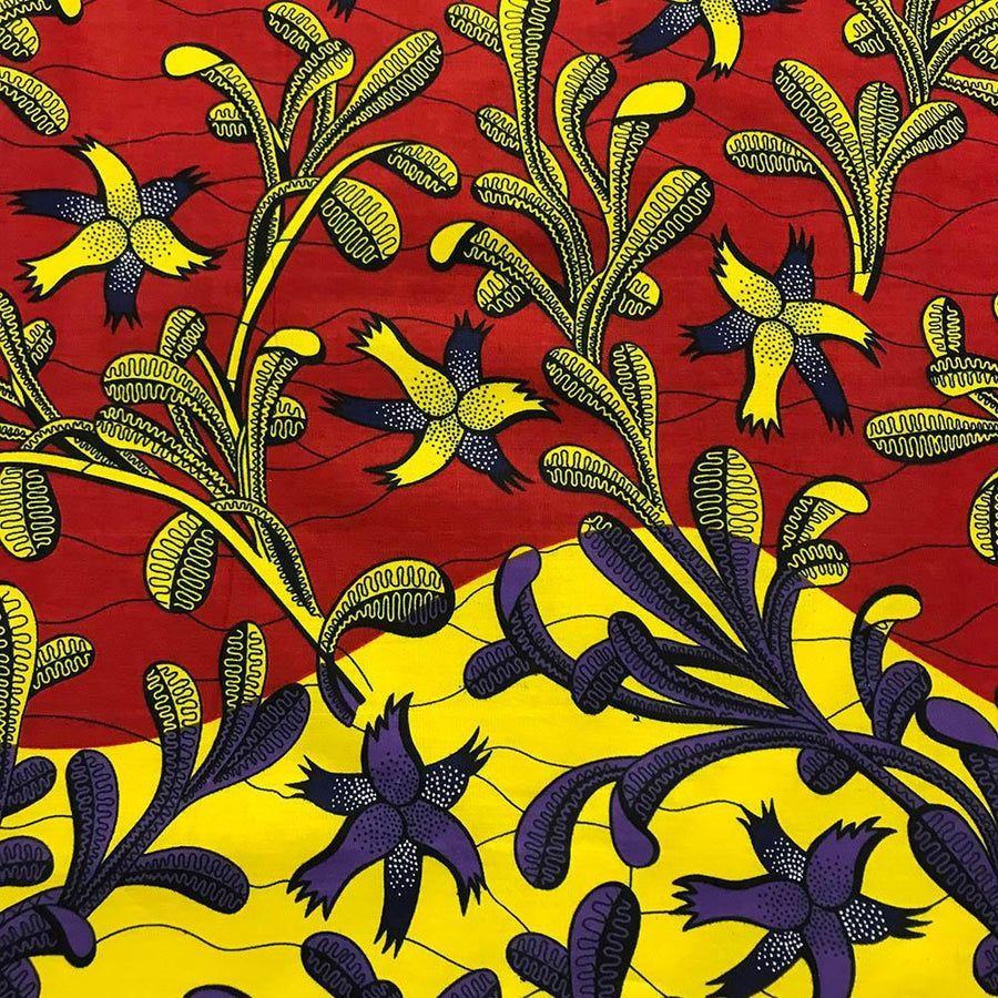 African Print (90202-5) Fabric
