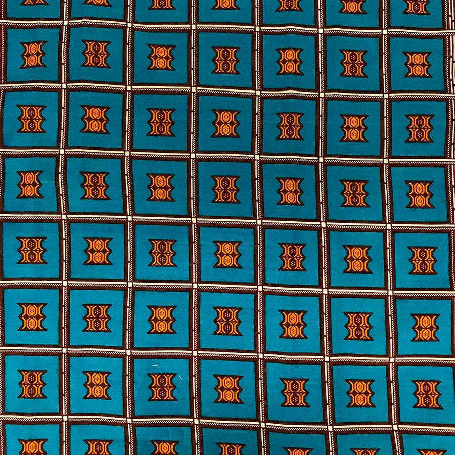 African Print (90204-3) Fabric