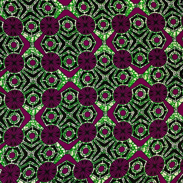 African Print (90207-4) Fabric